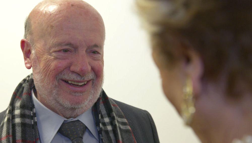 El carisma de Fernando Cejalvo conquista a todos en 'La Voz Senior'