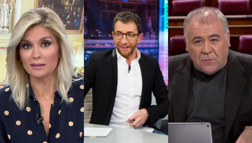 Antena 3 Noticias 1, 'El Hormiguero 3.0' y 'Al Rojo Vivo'