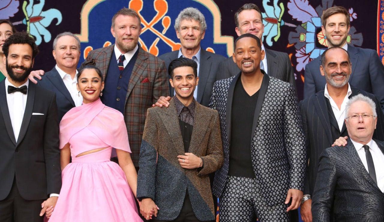El equipo de 'Aladdin'
