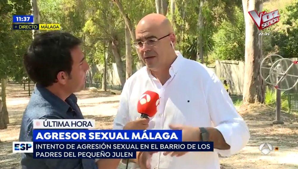 Agresor sexual en Málaga