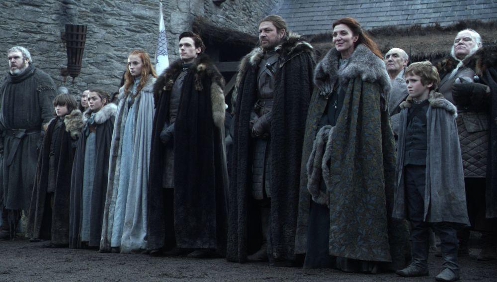 Familia Stark en 'Juego de Tronos'