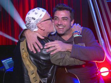 Toni Mateos, batería de 'La Voz Senior', emocionado por reencontrase con Frank Mercader