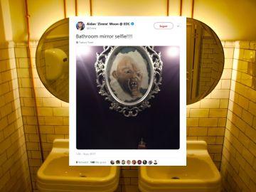 Selfies en el baño