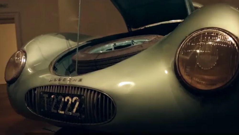 El Porsche que será subastado