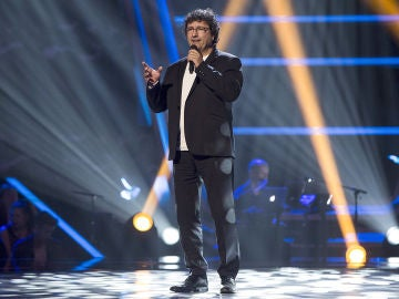 David Jarque canta 'I've got you under my skin' en las Audiciones a ciegas de 'La Voz Senior'