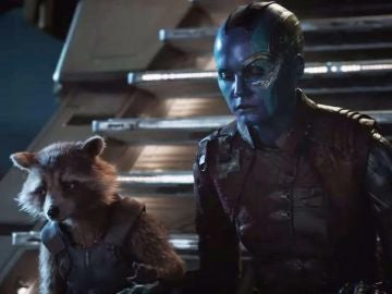 Rocket y Nebula en 'Vengadores: Endgame'