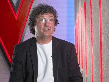 """David Jarque, talent de 'La Voz Senior': """"Nunca he tenido el afán de triunfar por todo lo alto"""""""