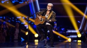 Frank Mercader canta 'It's a heartache' en las Audiciones a ciegas