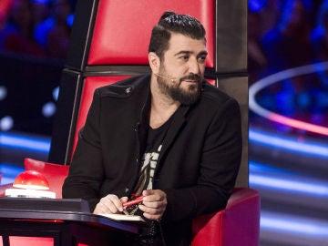"""Antonio Orozco, arrepentido por no girarse por Nico Fioole en las Audiciones a ciegas de 'La Voz Senior': """"Parezco tonto"""""""