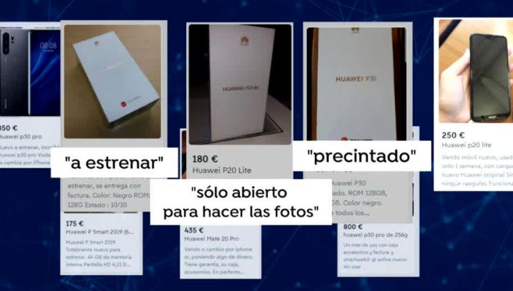 Anuncios de venta de Huawei