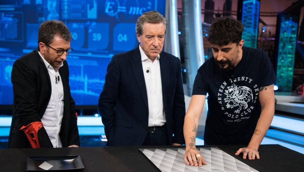 La ilusión óptica de Marron que deja fascinado a Iñaki Gabilondo en 'El Hormiguero 3.0'