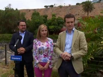 Pablo Casado promete crear empleo en Canarias