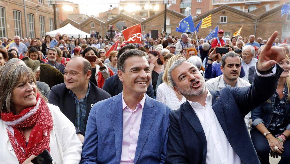 Pedro Sánchez, en un acto en Barcelona