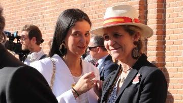 Infanta Elena y Victoria Federica