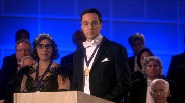 Discurso de Sheldon y Amy