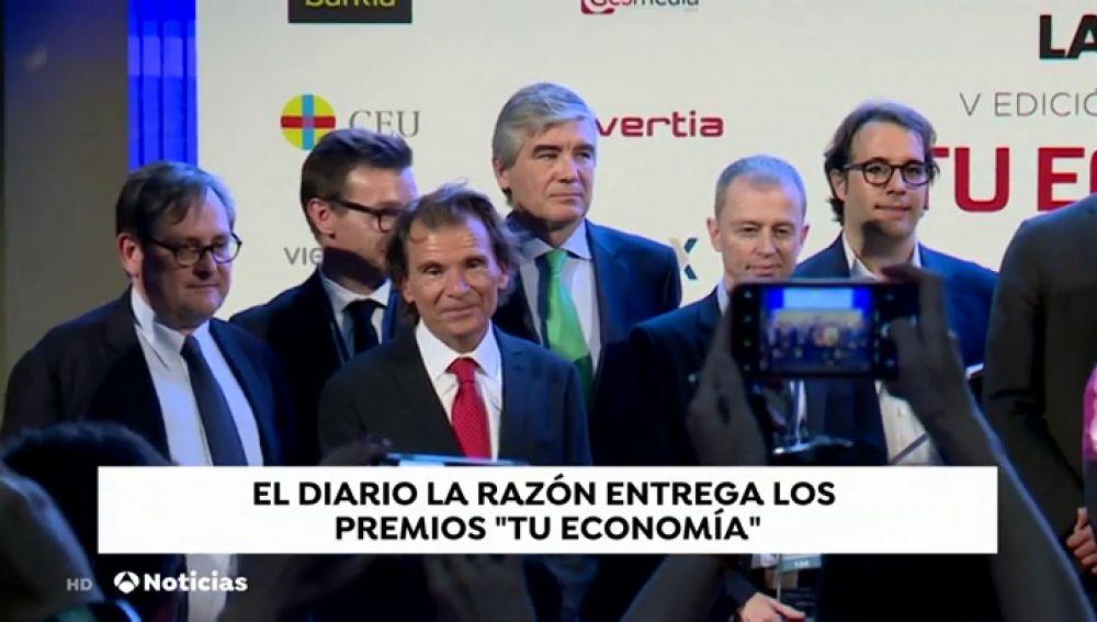 La Razón entrega los Premios 'Tu Economía'