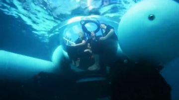 Uber lanza el ScUber, el primer submarino de viaje compartido en la Gran Barrera de Coral
