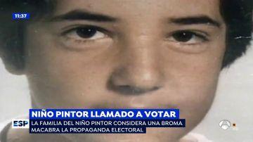 El niño pintor llamado a votar