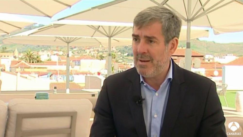 Candidatos a la Presidencia del Gobierno: Fernando Clavijo