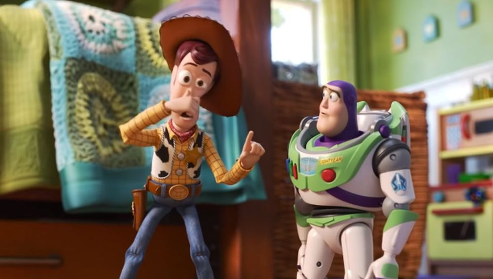 Woody y Buzz Lightyear en 'Toy Story 4'