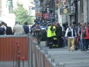 REEMPLAZO: Al menos ocho heridos en una explosión en Lyon