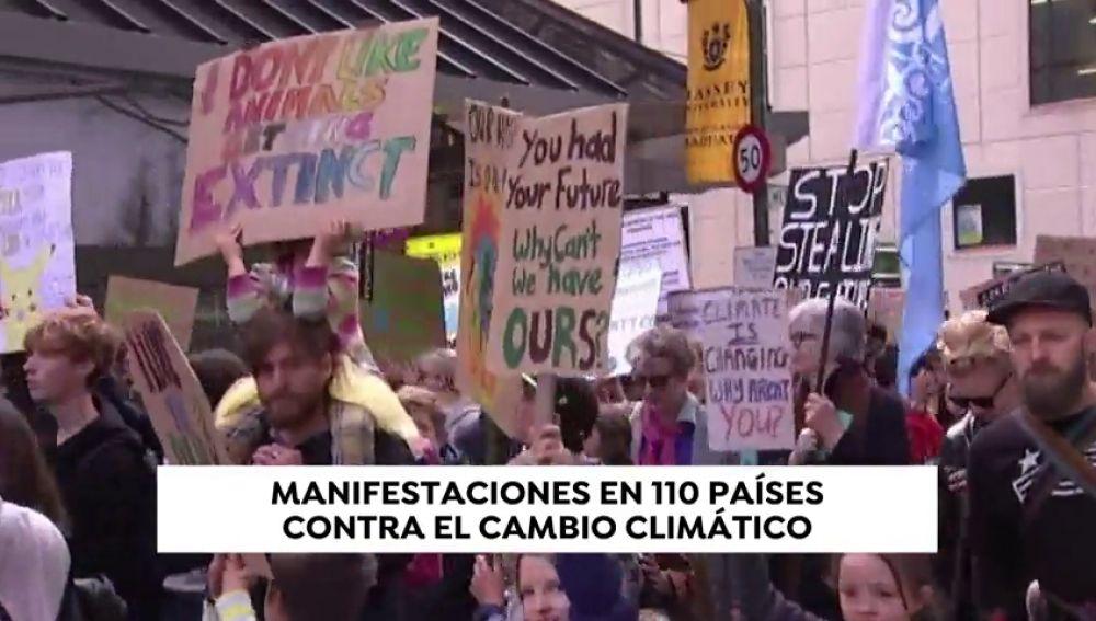Los estudiantes vuelven a salir a la calle para protestar contra el cambio climático a dos días de las Elecciones Europeas