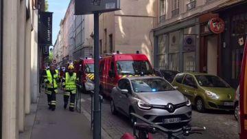 Al menos ocho heridos en la explosión de un paquete bomba en Lyon