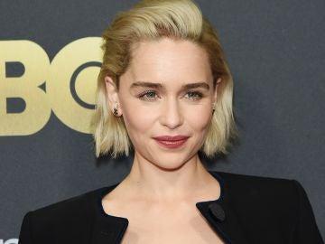 Emilia Clarke en la presentación de HBO