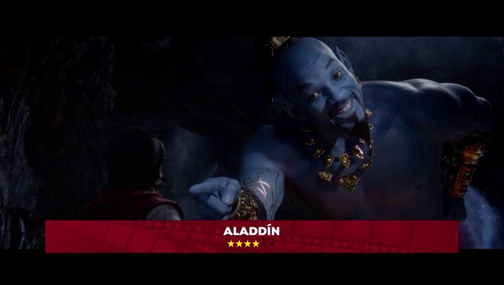 'Aladdin' protagoniza los estrenos de la semana