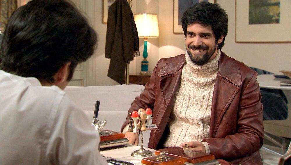 Vicente vuelve desvelándole a Gabriel una alarmante noticia