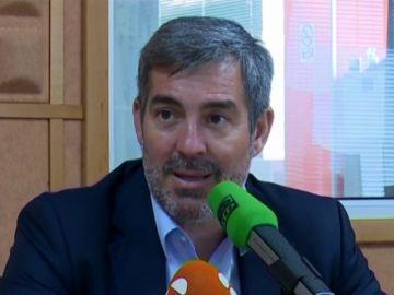 Última entrevista de campaña de Clavijo en Onda Cero