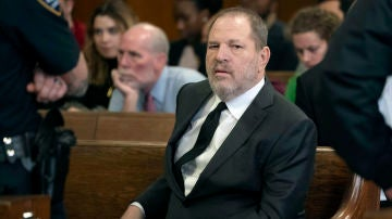 Harvey Weinstein en los juzgados