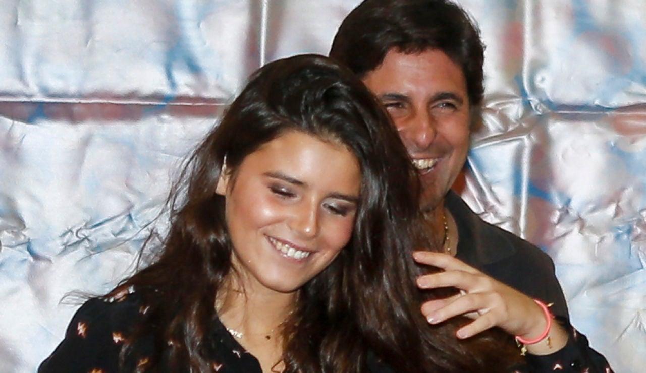 Fran Rivera y su hija Cayetana