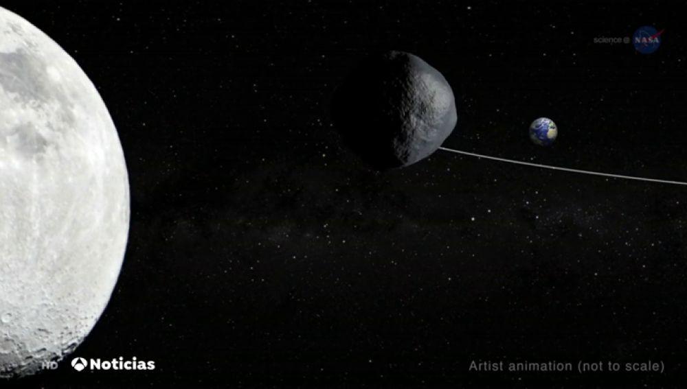 Un peligroso asteroide pasará muy cerca de la Tierra este sábado
