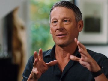 El exciclista Lance Armstrong, en la entrevista en la cadena NBCSN