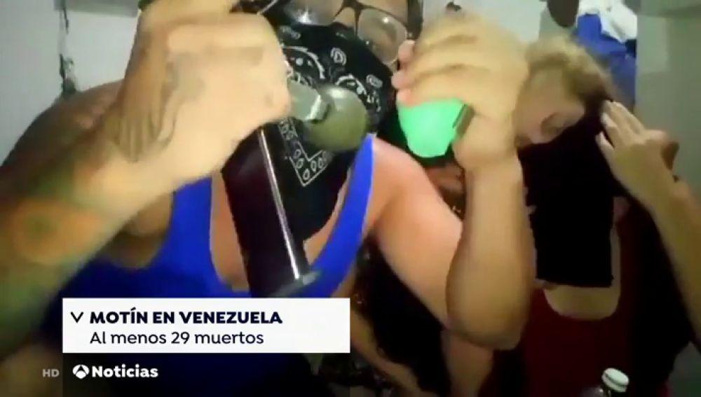 Al menos 30 muertos en un motín en una cárcel venezolana