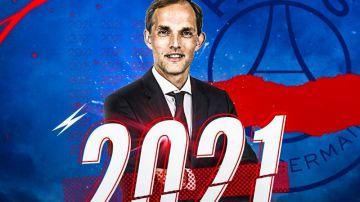 Tuchel, en el PSG hasta 2021
