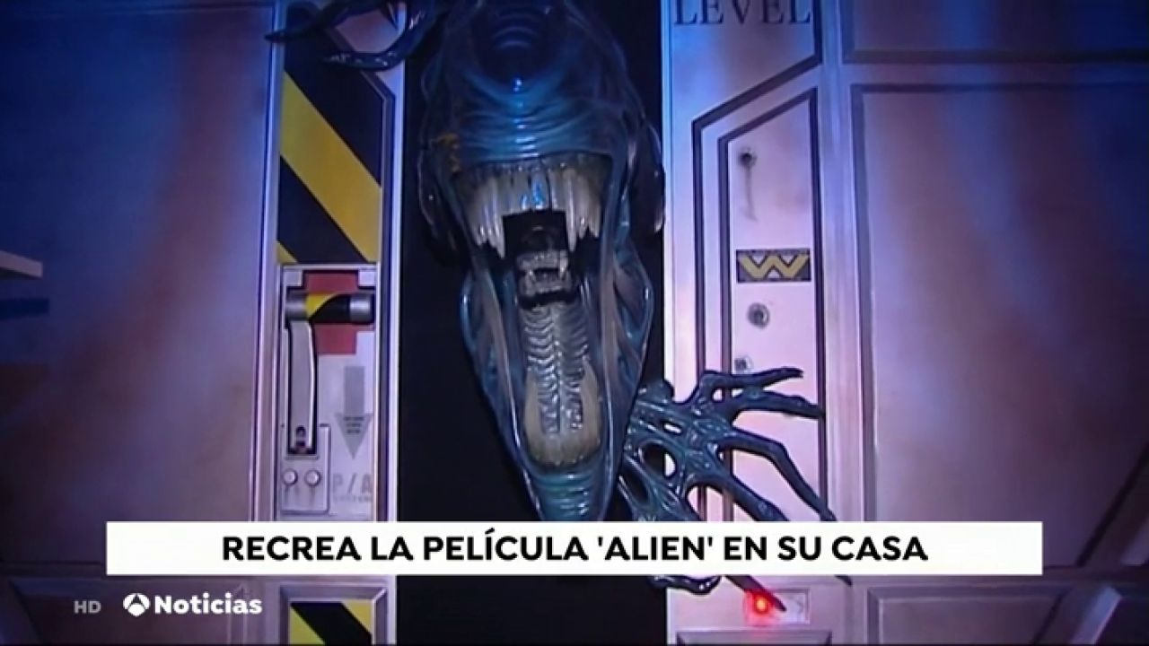 Así Recrean La Película 'Alien, El Octavo Pasajero' En Su