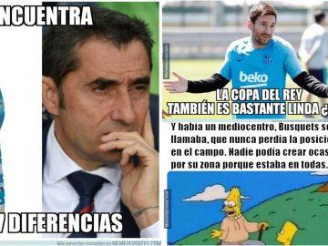 Los mejores memes de la final de Copa del Rey