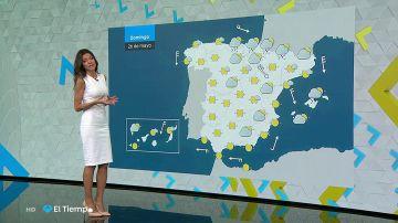 Suben las temperaturas, salvo en puntos del norte donde se esperan lluvias