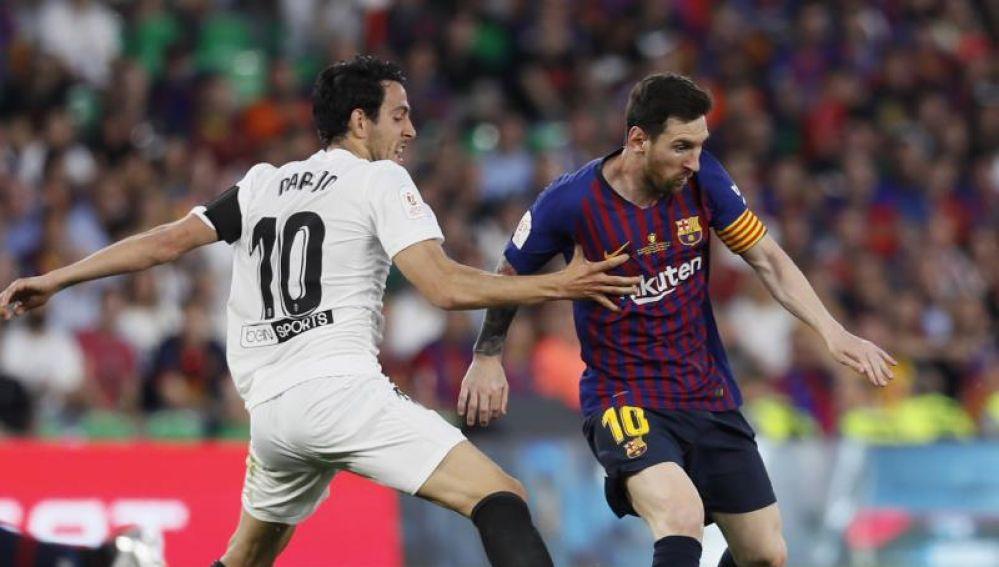 El capitán del Valencia, Dani Parejo.