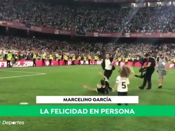 La 'brutal entrada' de Gabriel Paulista a Marcelino tras ganar la Copa del Rey
