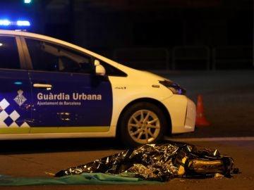 Muere un repartidor de Glovo tras ser atropellado en Barcelona