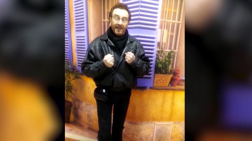 Ignacio Encinas, muy emocionado camino al plató de 'La Voz Senior'