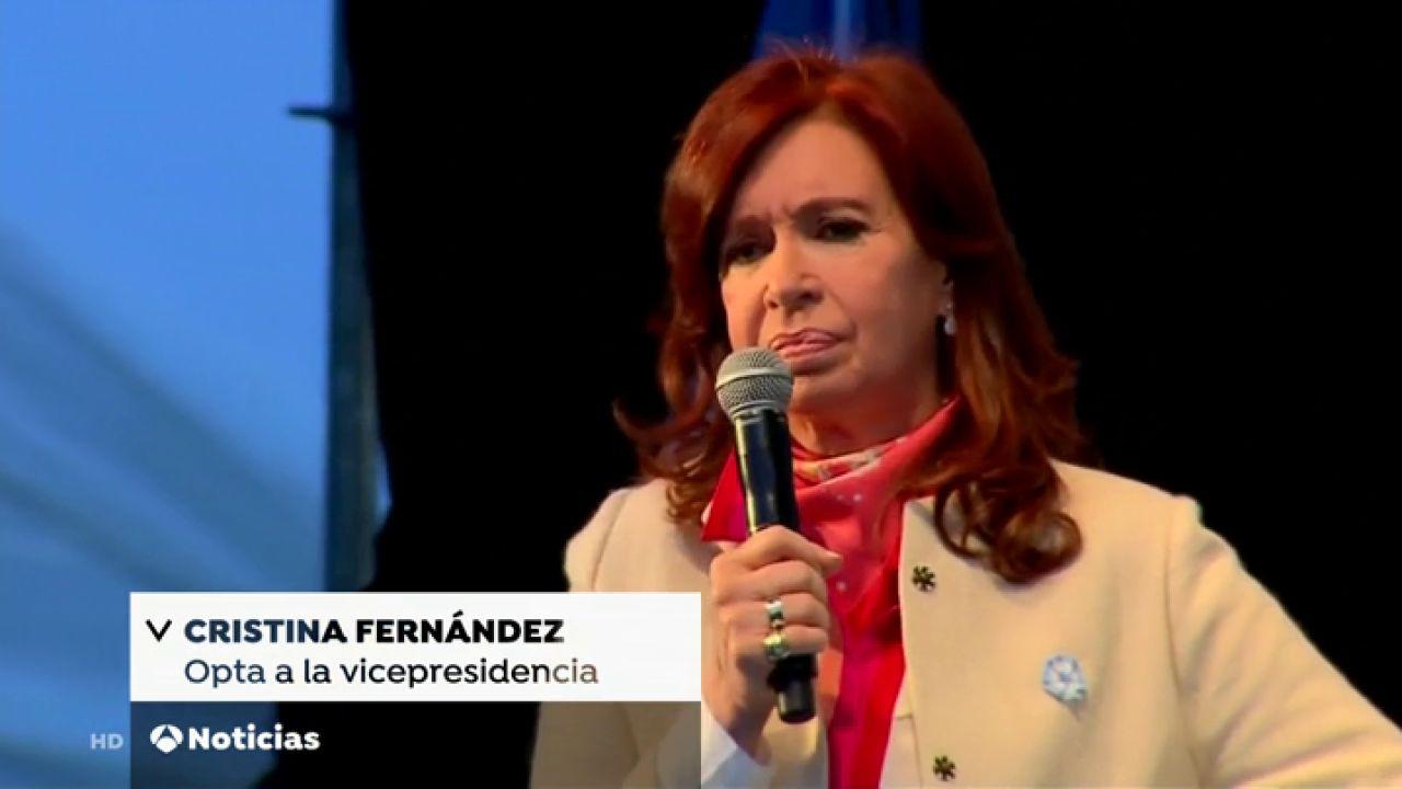 Cristina Fernández De Kirchner Da Su Primer Mitin Como
