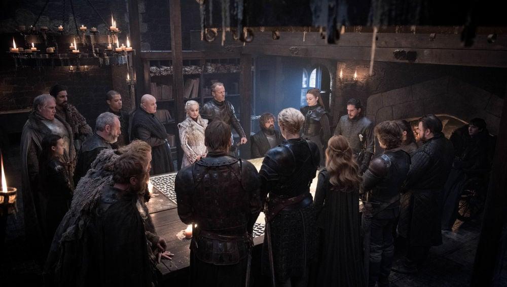 Los actores de 'Juego de Tronos' en la última temporada