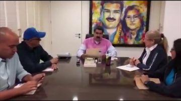 Maduro agradece a Noruega los esfuerzos para diálogo con la oposición