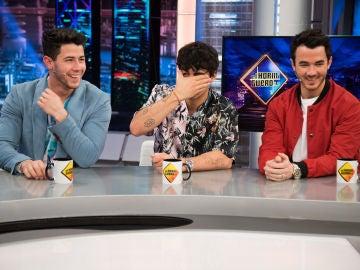 Kevin, Joe y Nick Jonas se 'mojan' en 'El Hormiguero 3.0': ¿Qué les encanta y que detestan de ellos?