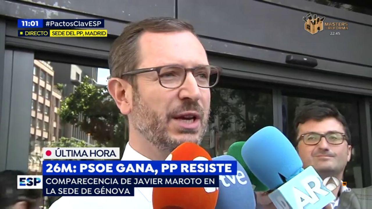 """Javier Maroto: """"El Líder Del Partido En El Centro Derecha"""
