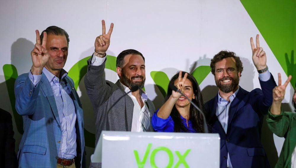 Vox celebra sus resultados del 26M